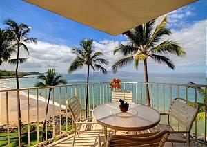 Kamaole Nalu 2 Bdrm Oceanfront Condo!!