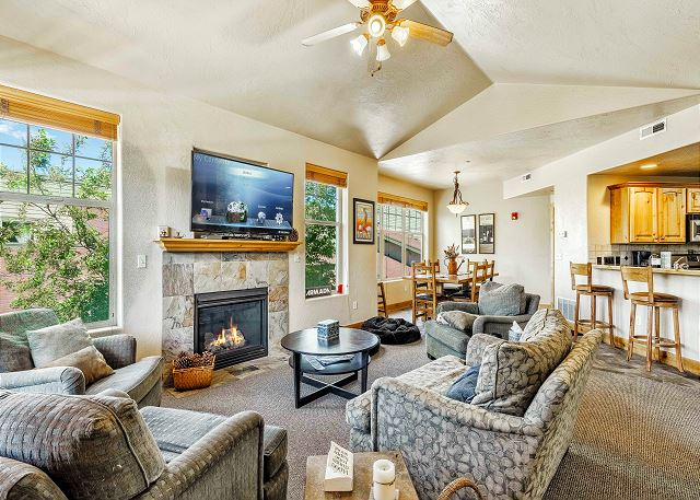Park City UT Vacation Rental Bright and airy
