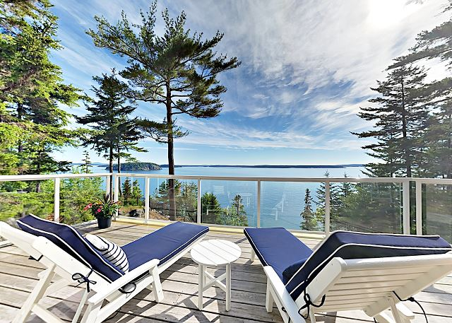 Bar Harbor ME Vacation Rental Glorious views from