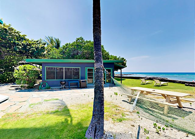 Puako HI Vacation Rental Surrounded by lush