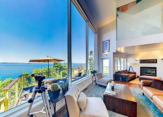 Seattle WA Vacation Rental Airy and expansive