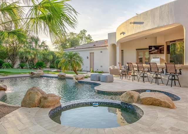 Paradise Valley AZ Vacation Rental Outdoor oasis with