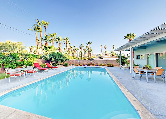 Palm Springs CA Vacation Rental Your private pool