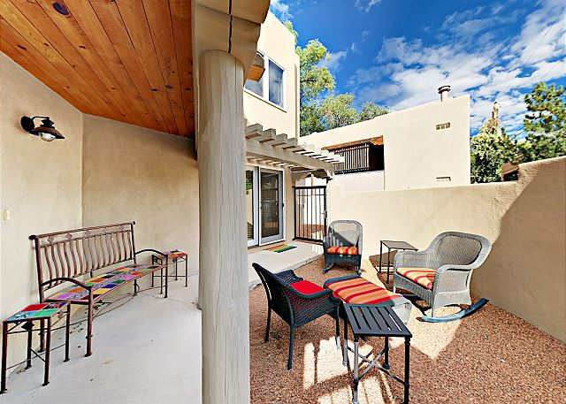 Santa Fe NM Vacation Rental Enjoy sunny outdoor