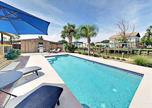 Modern 4BR w/ Pool & Dock on Canal | TurnKey