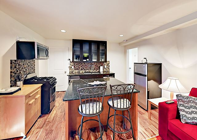 Kirkland WA Vacation Rental The well-equipped kitchen