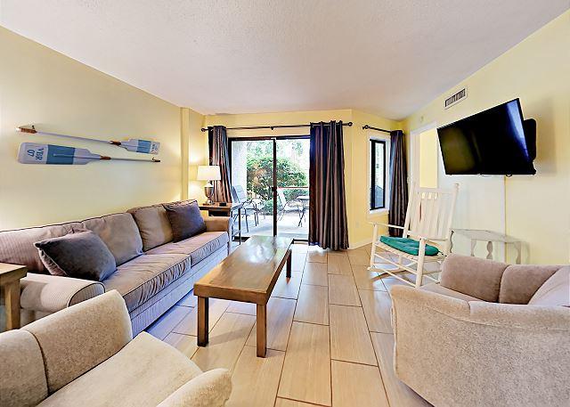 Hilton Head Island SC Vacation Rental The main living