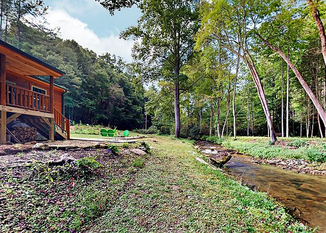 Pisgah Forest NC Vacation Rental Welcome to Creekside!