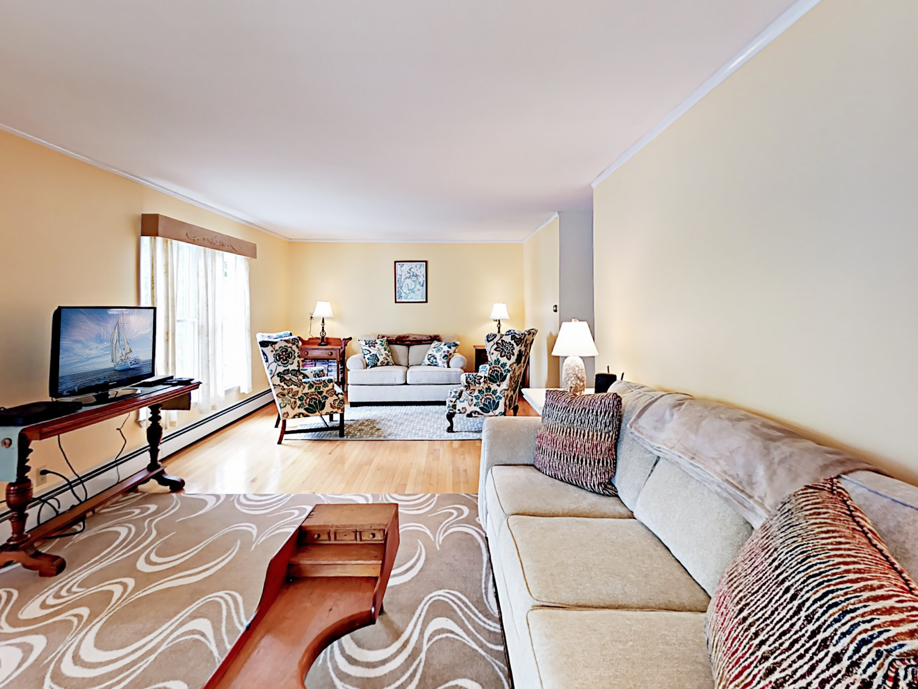 Mount Desert ME Vacation Rental In the living