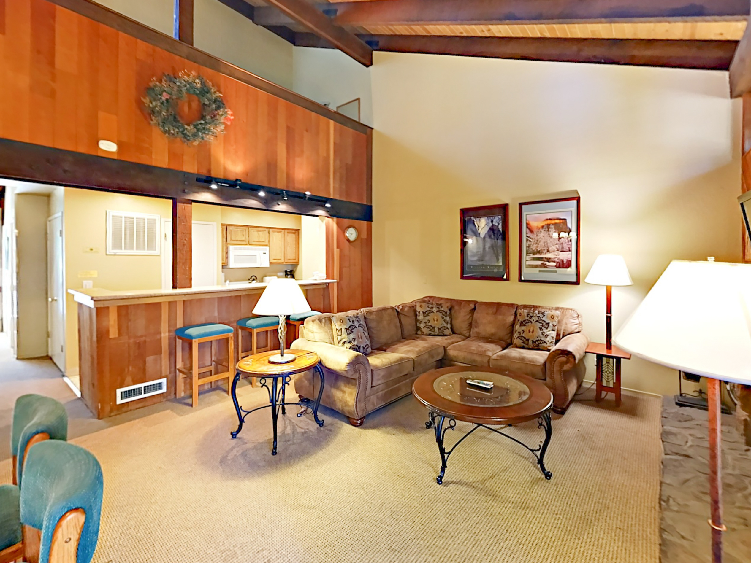 South Lake Tahoe CA Vacation Rental The open-concept living