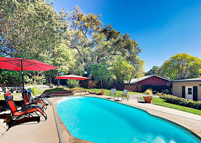 Atascadero CA Vacation Rental Choose sun or