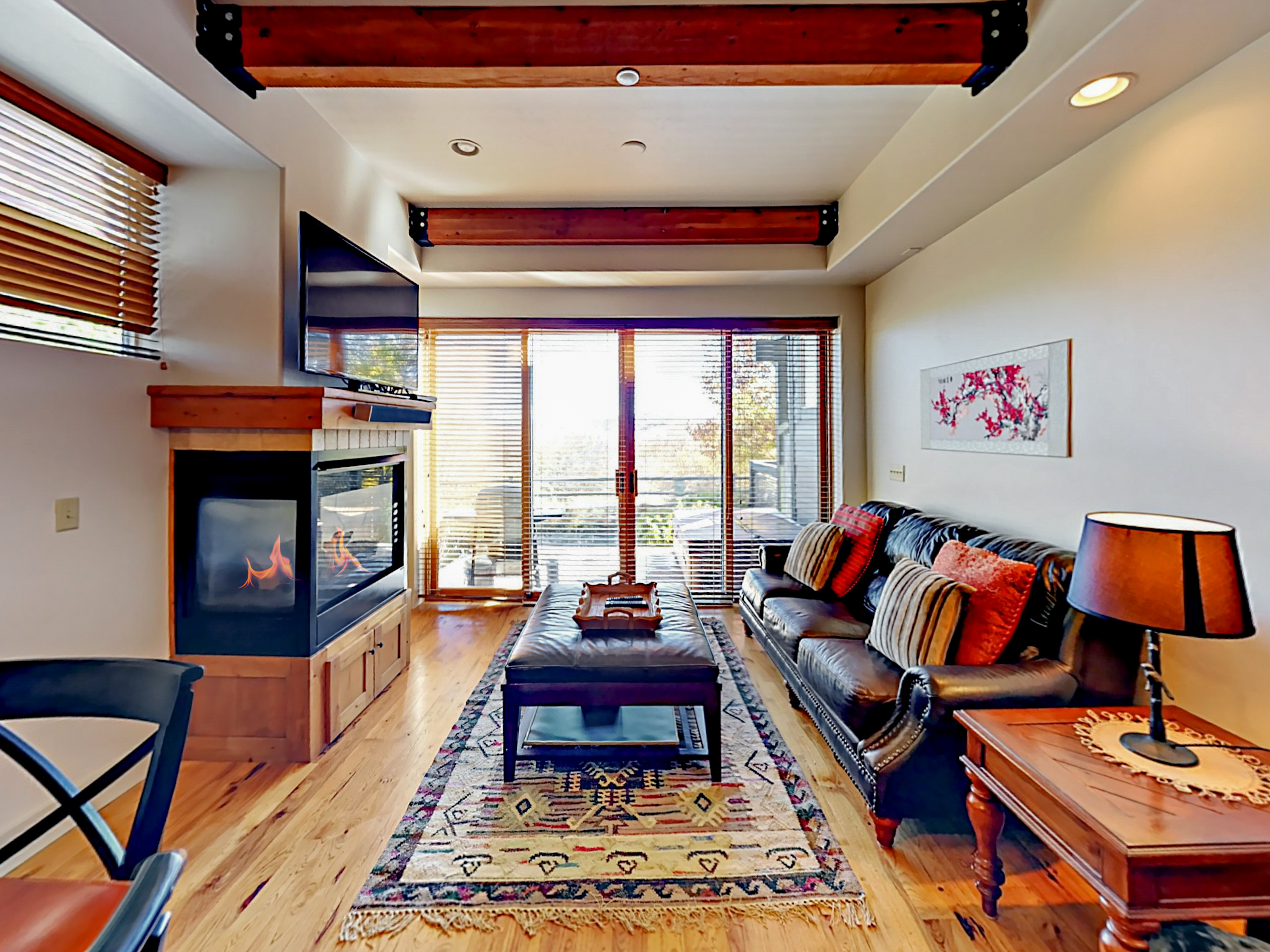Park City UT Vacation Rental High ceilings and