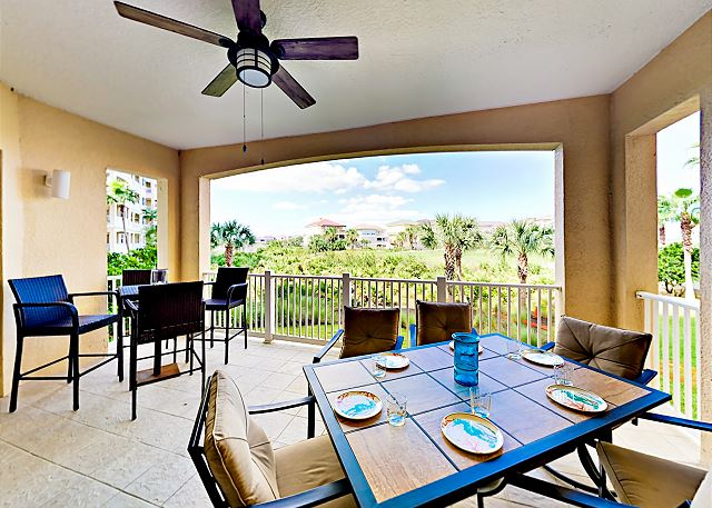 Palm Coast FL Vacation Rental A private balcony