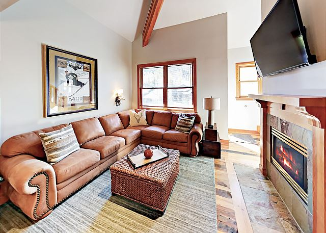 Park City UT Vacation Rental A comfy sectional
