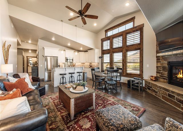 Heber City UT Vacation Rental This stunning home