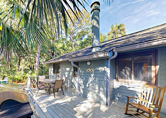 Kiawah Island SC Vacation Rental A private deck