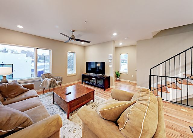 Asheville NC Vacation Rental This stunning townhome