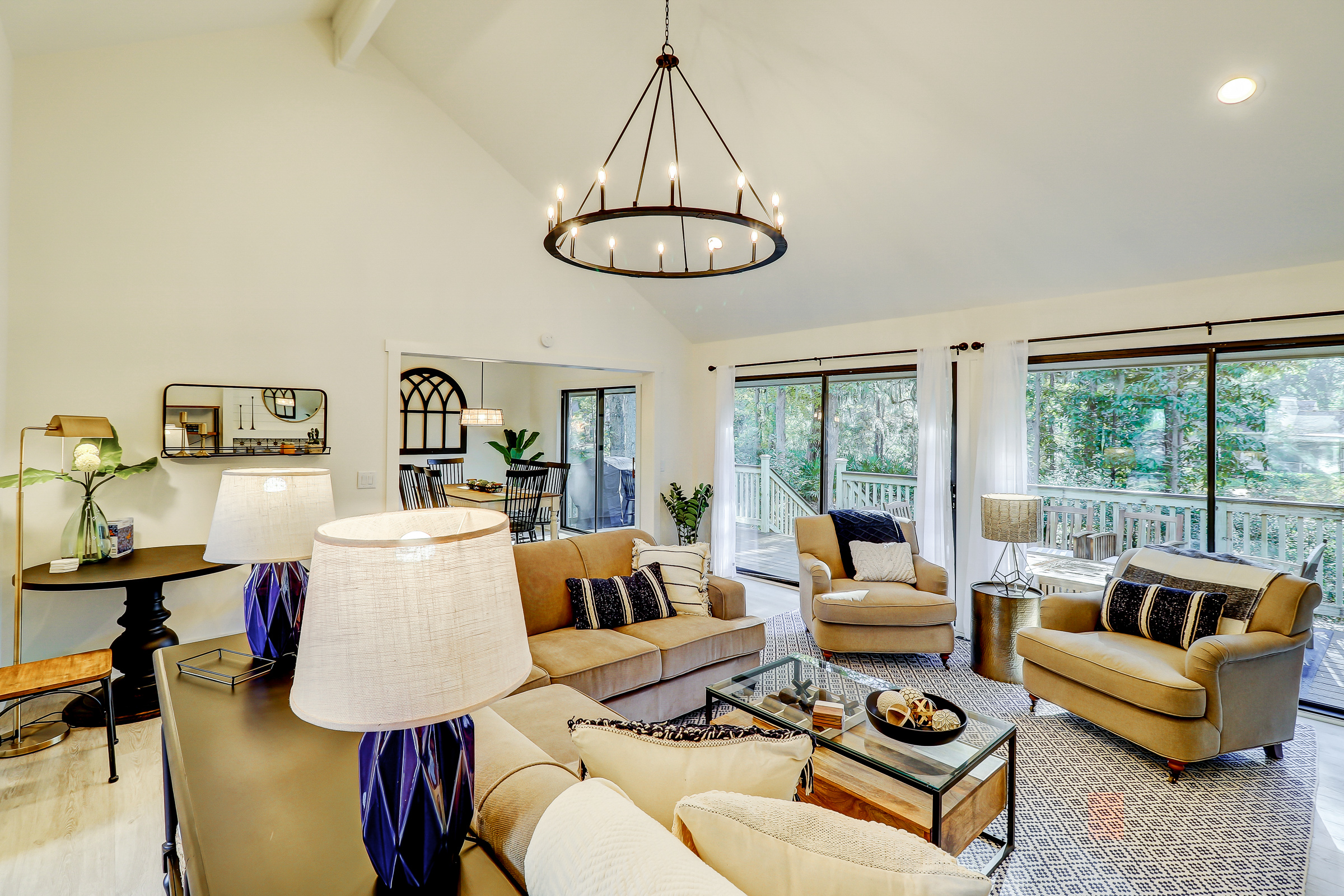 Hilton Head SC Vacation Rental Stretch out on