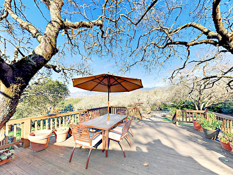 Santa Rosa CA Vacation Rental A 6-person dining