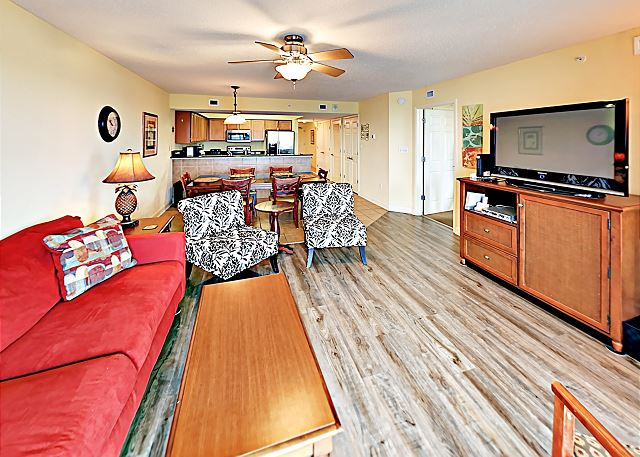 North Myrtle Beach SC Vacation Rental There's seating for
