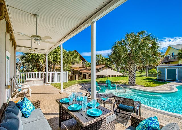 Walk to Beach! 2-Story Home w/ Private Heated Pool | TurnKey