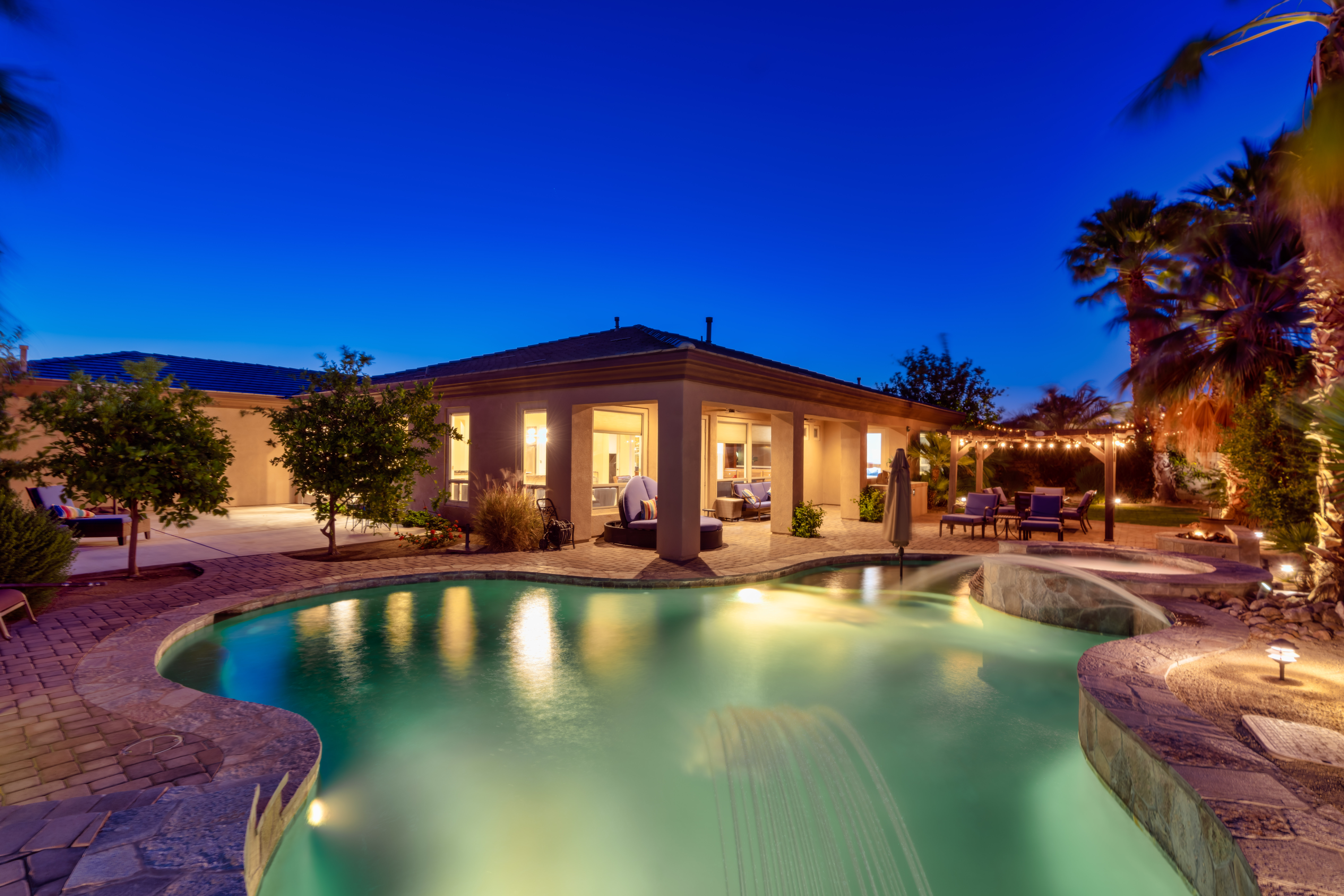 Indio CA Vacation Rental Welcome! This tropical