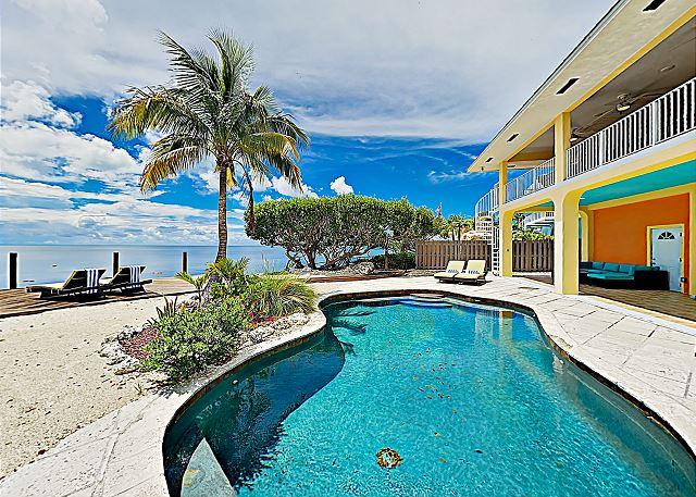 Key Largo FL Vacation Rental Take in ocean