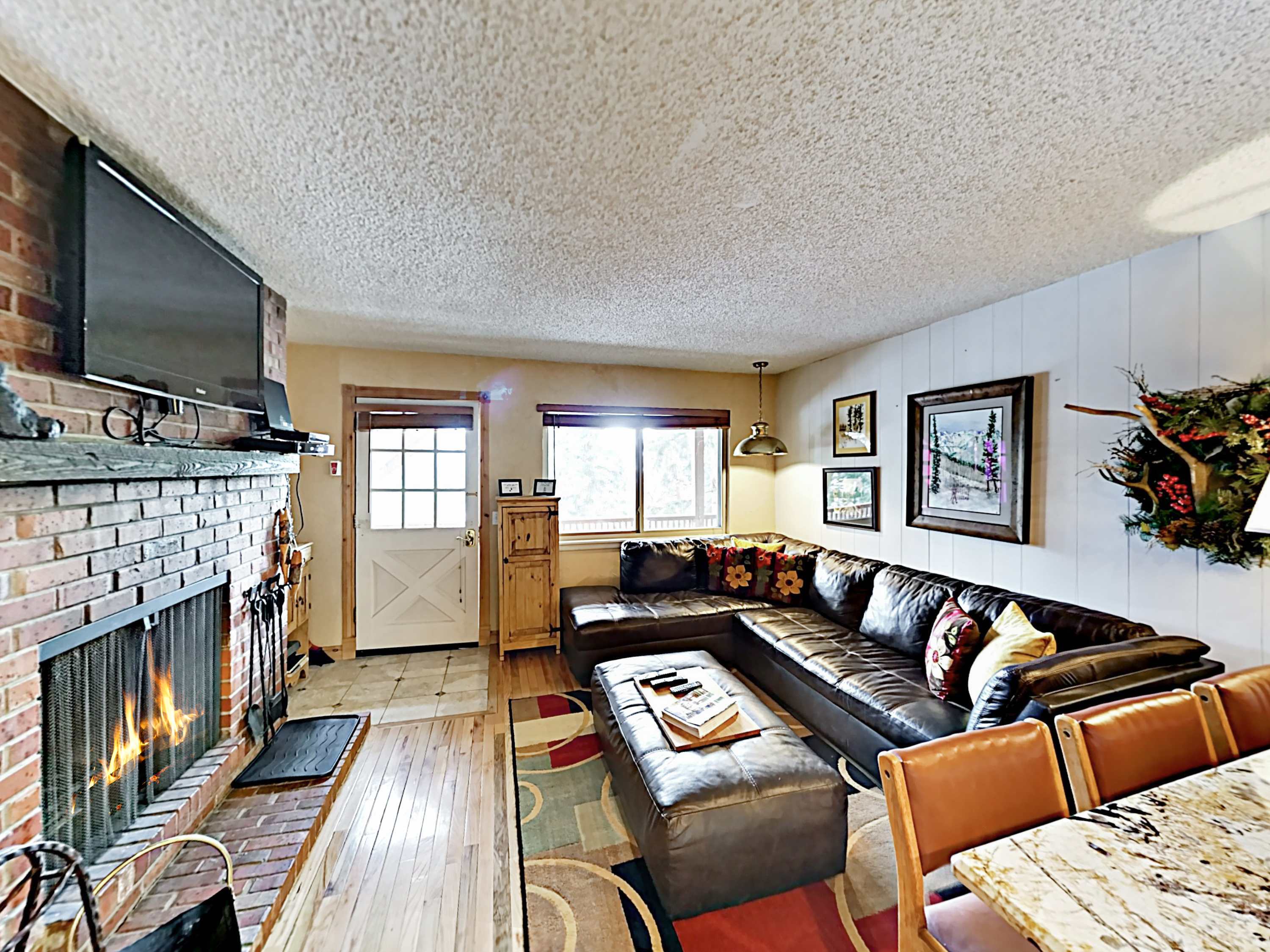 Winter Park CO Vacation Rental Both living rooms