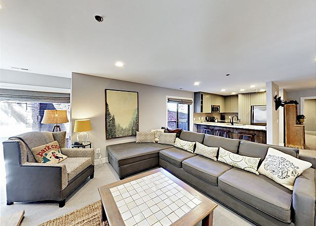 Park City UT Vacation Rental In the living