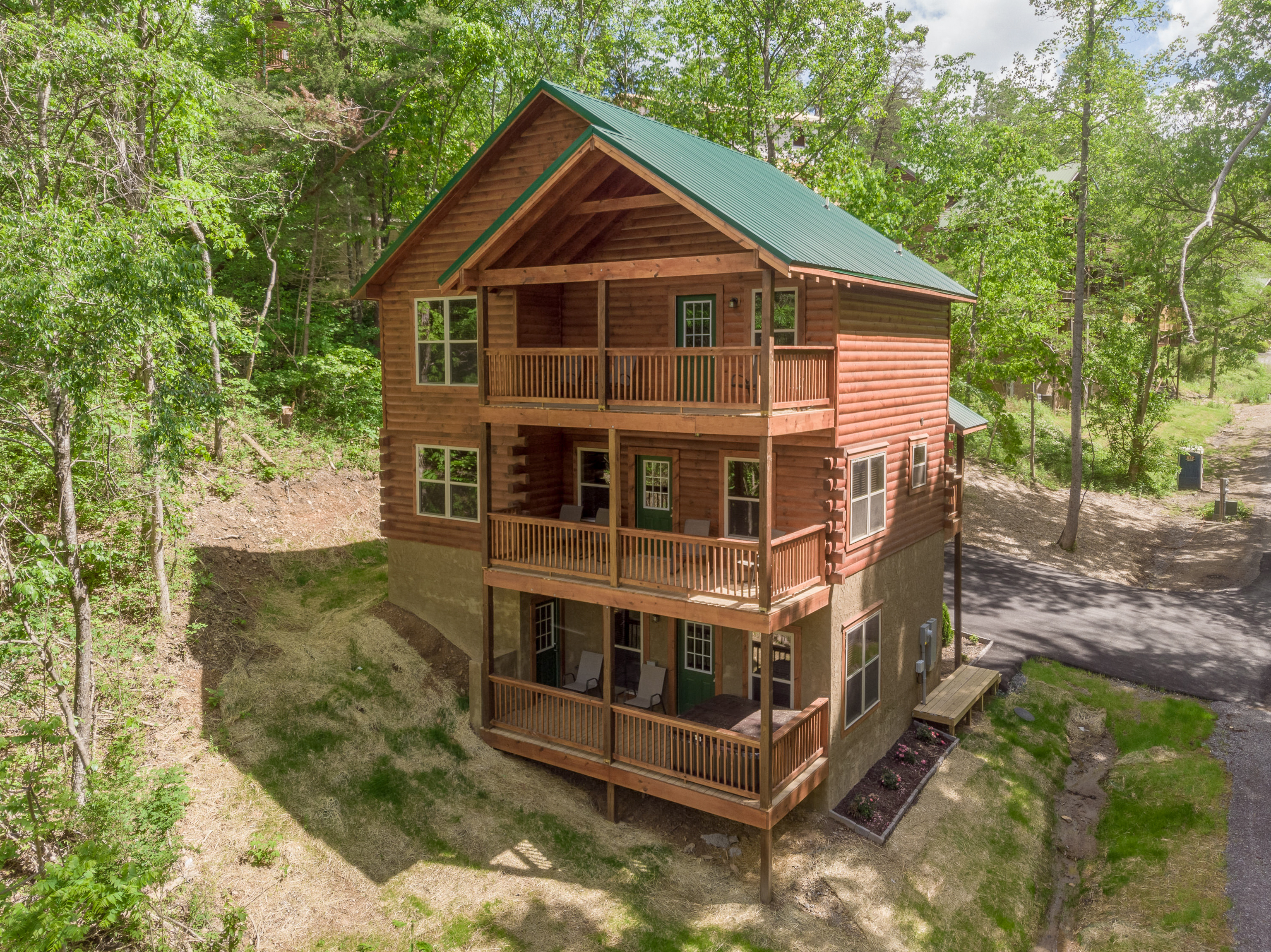 Wooded Retreat w/ Hot Tub, Game Room & 3 Balconies | TurnKey