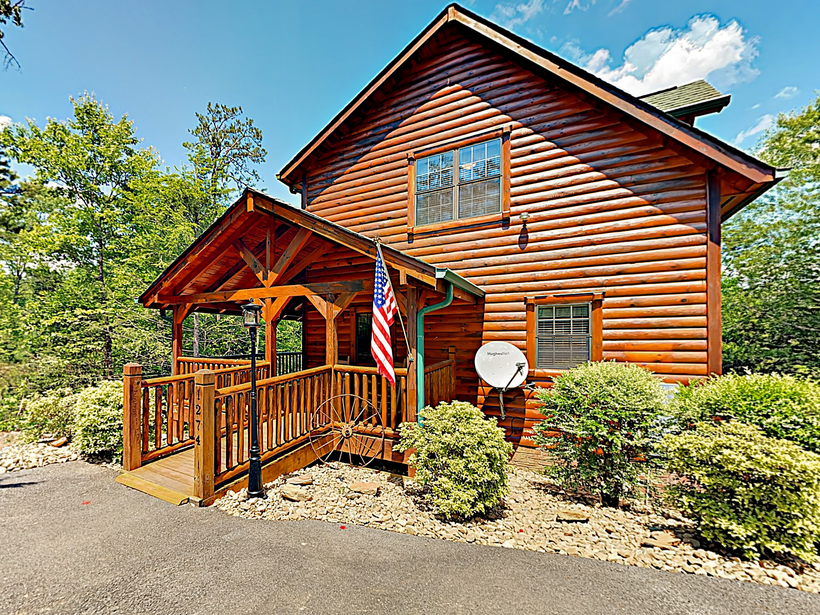 Sevierville TN Vacation Rental Welcome to Peaceful