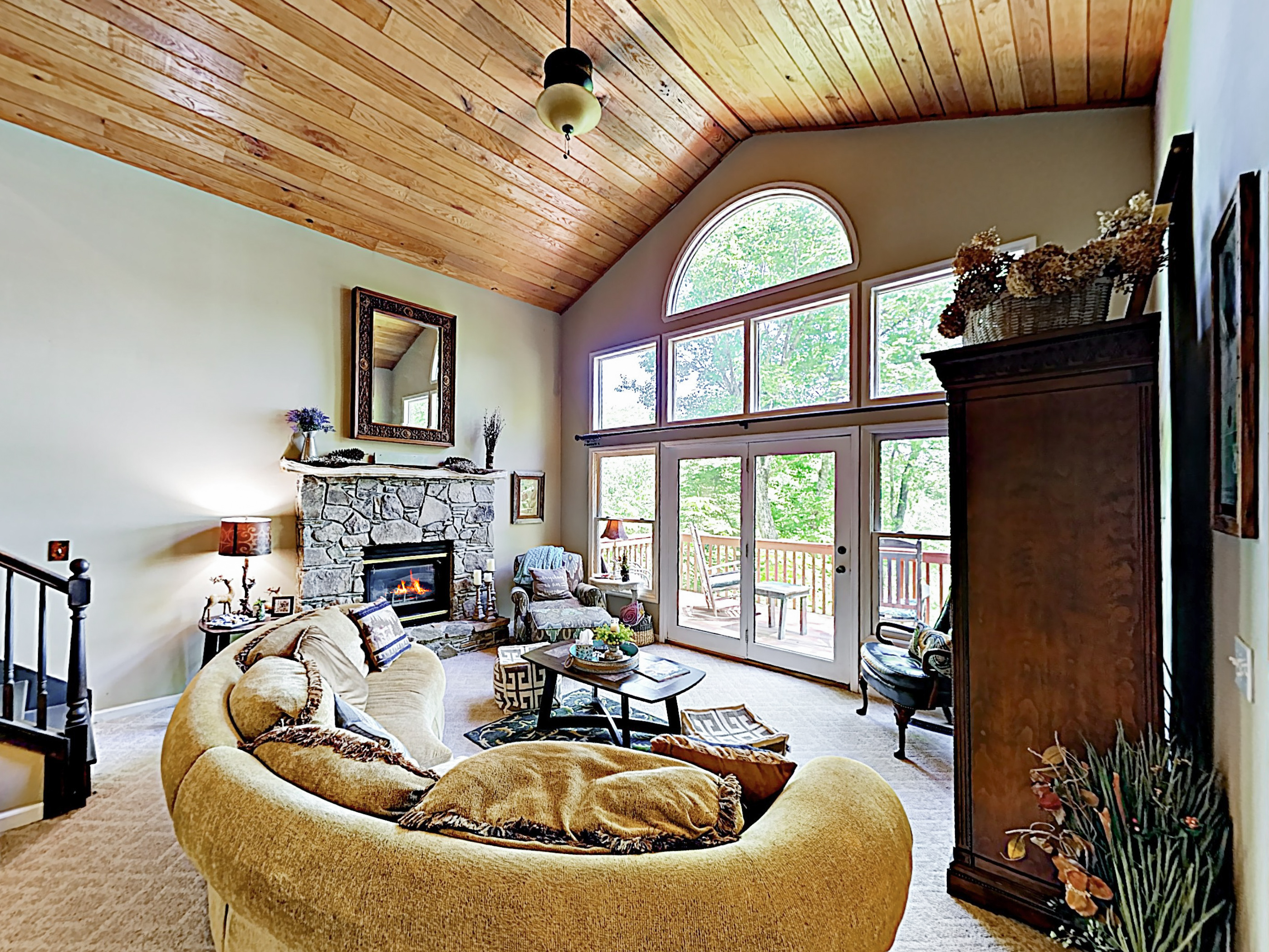Pisgah Forest NC Vacation Rental Welcome! This mountain