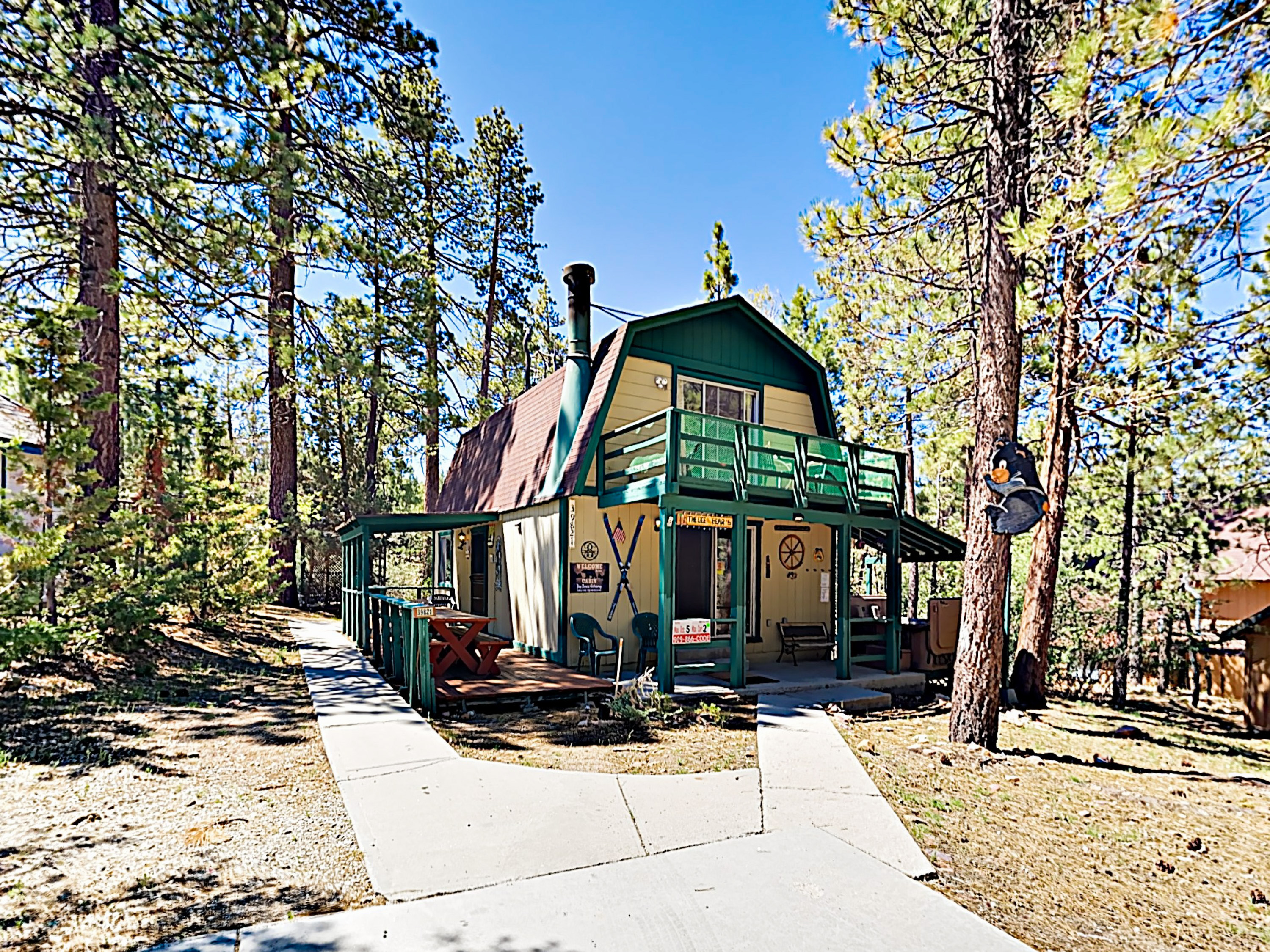 Big Bear Lake CA Vacation Rental Welcome to The