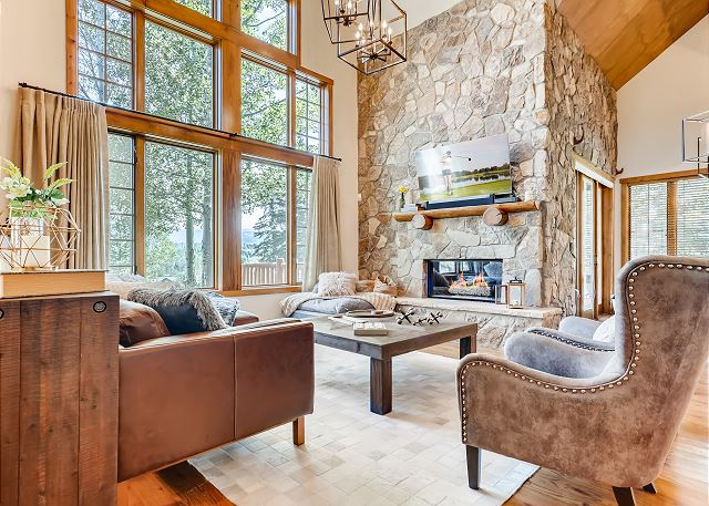 New Listing! Luxe Lodge w/ Mountain Views
