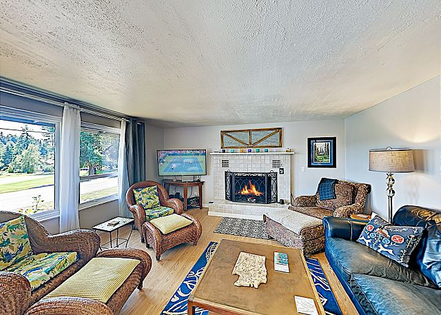Langley WA Vacation Rental This home is