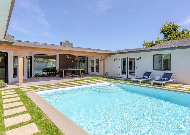 New Listing! Mid-Century Modern Paradise w/ Pool