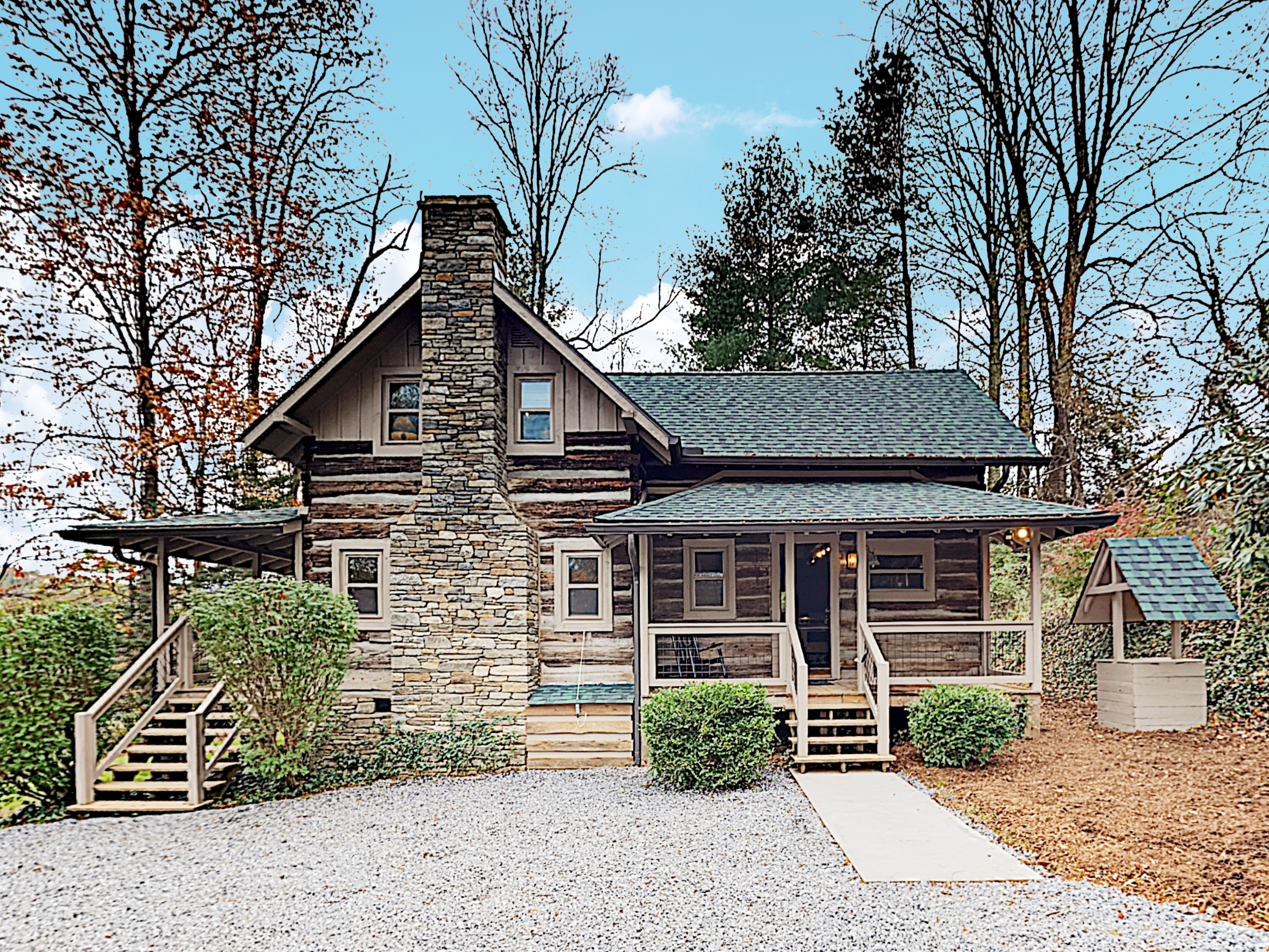 Fletcher NC Vacation Rental Welcome! This cabin