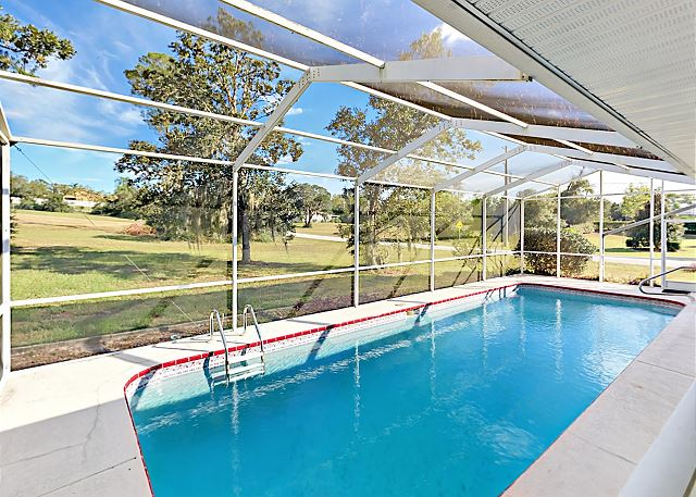 Spacious 3BR With Screened Pool