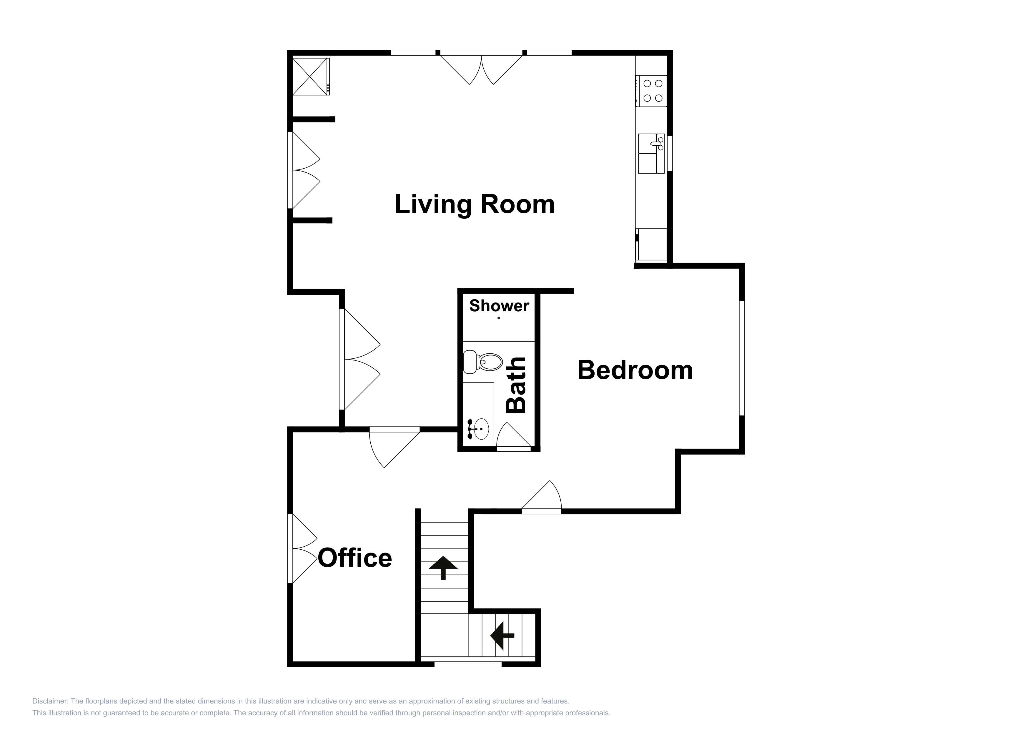 Paso Robles CA Vacation Rental This floor plan