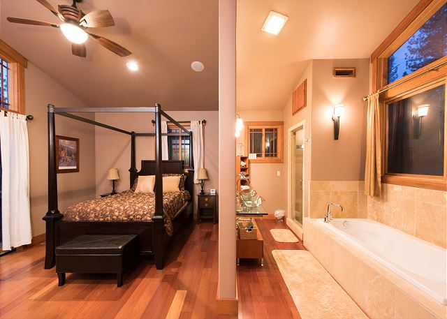 Master's suite and bath
