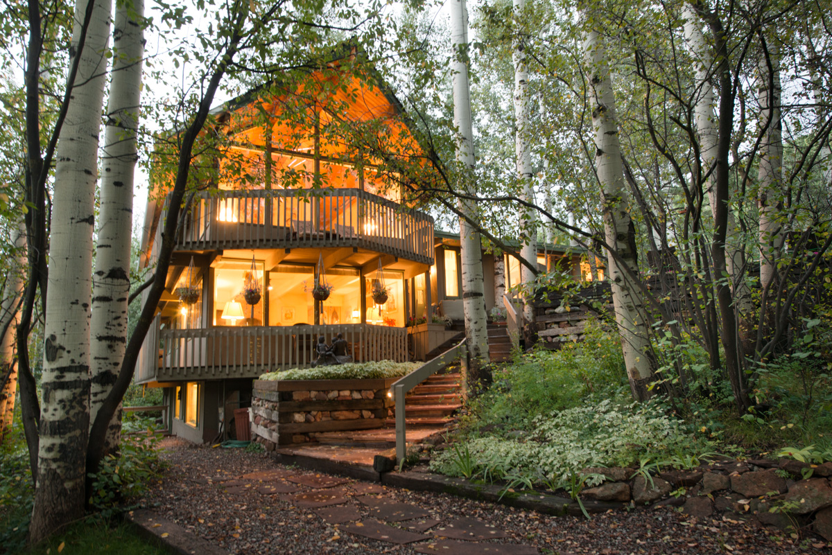 Aspen CO Vacation Rental Literally surrounded by