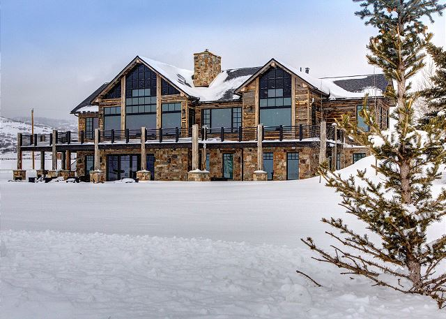 Park City Home W Ranch Ice Rink