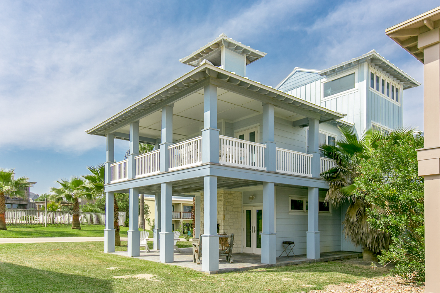 Port Aransas TX Vacation Rental Our covered deck