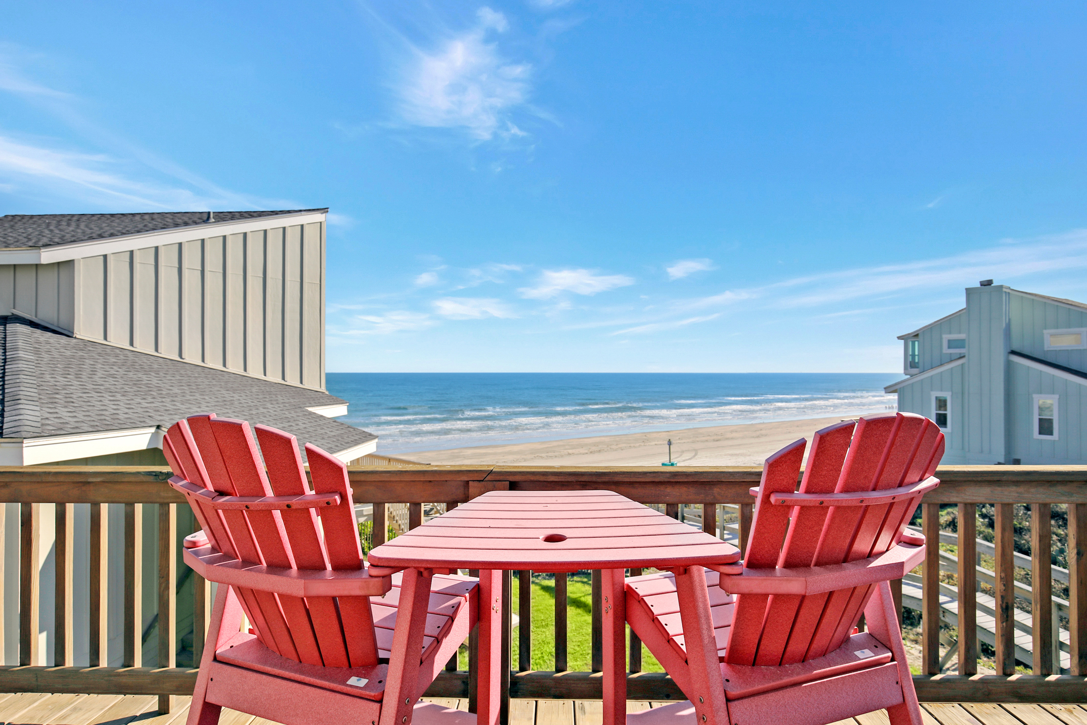 Port Aransas TX Vacation Rental Look out over