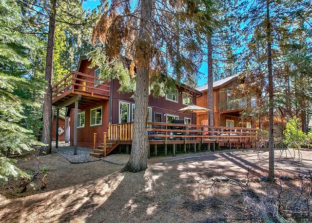 cabin cubby pet cottages bear tahoe lake vrbo picturesque friendly