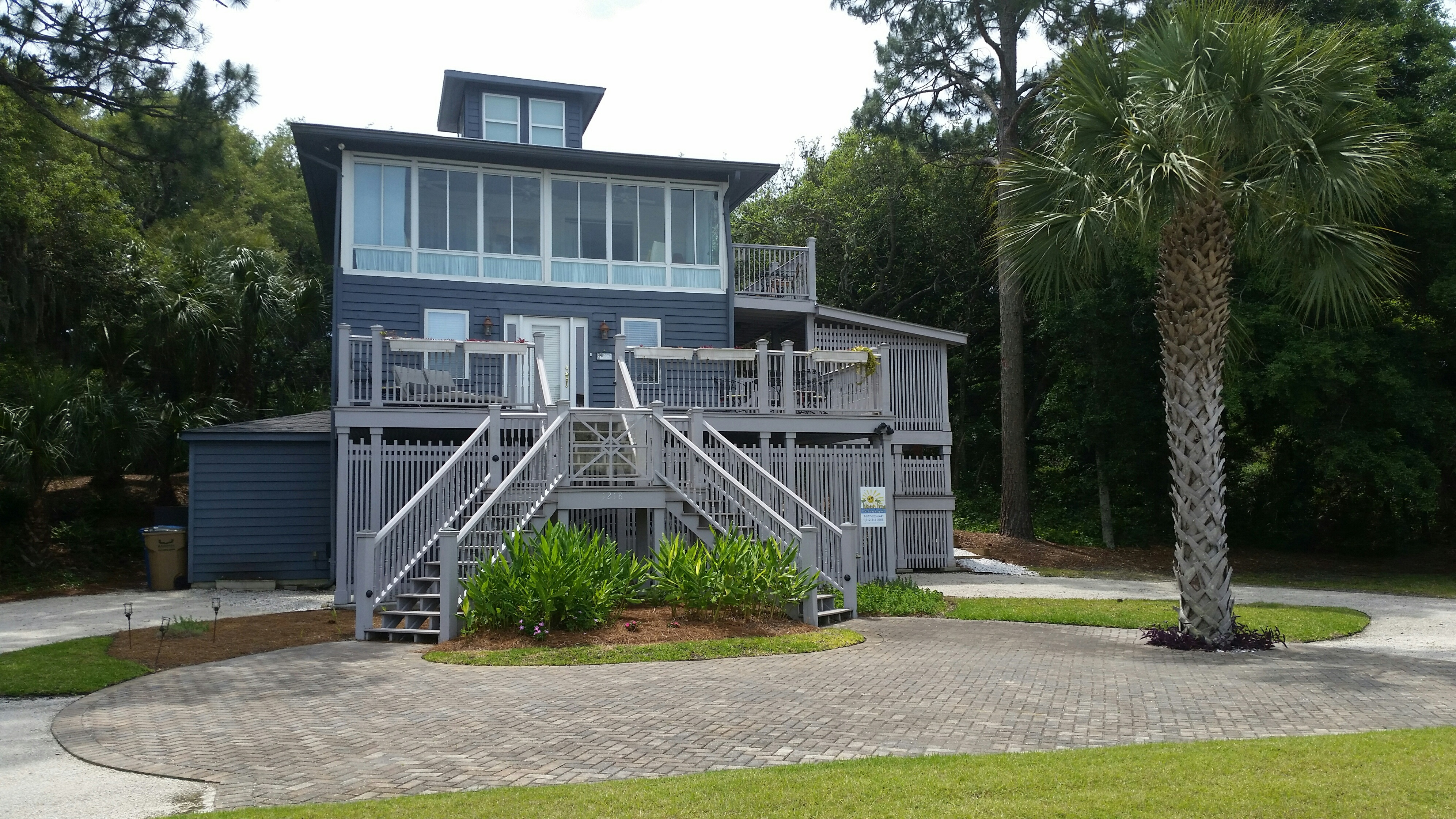 Cottage in the Sky Tybee Island GA