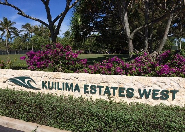 Entry way to Kuilima West