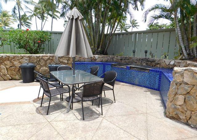 Pool BBQ Area