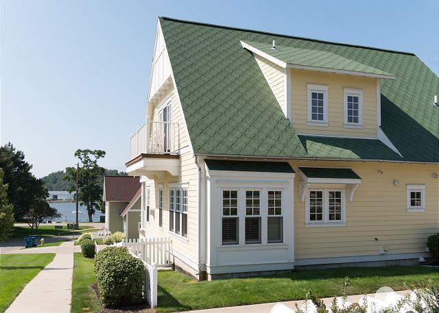 Lake Effect is one of the larger units in the Grand Haven Cottages!