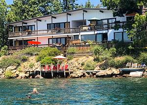 Holiday House #2, Lakefront, Dogs ok, Kitchenette, 1 Bdrm+